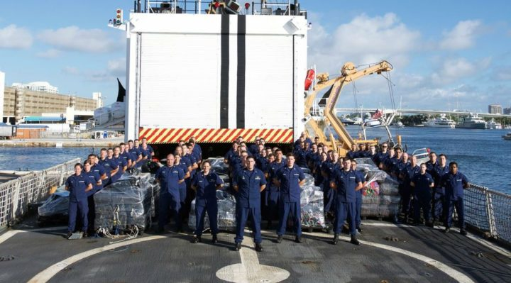 Coast Guard offloads more than 12 tons of cocaine at Port Everglades