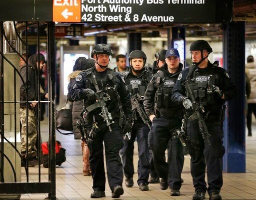 Subway bomb suspect appears in court from hospital