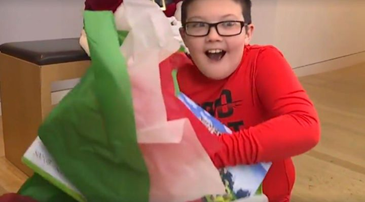 Microsoft Rewards Nine-Year-Old's Selflessness with an Xbox One X